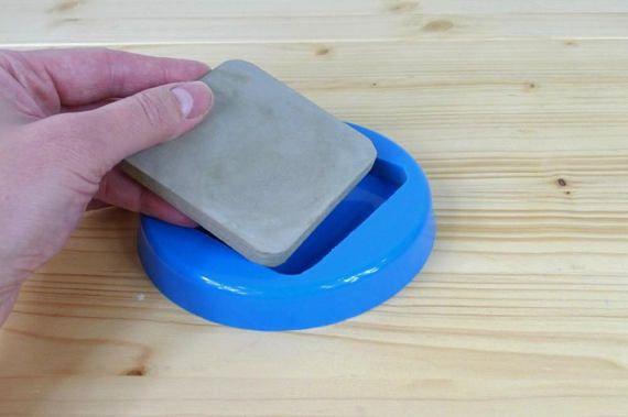 Square coaster silicone mold Silicone concrete mould