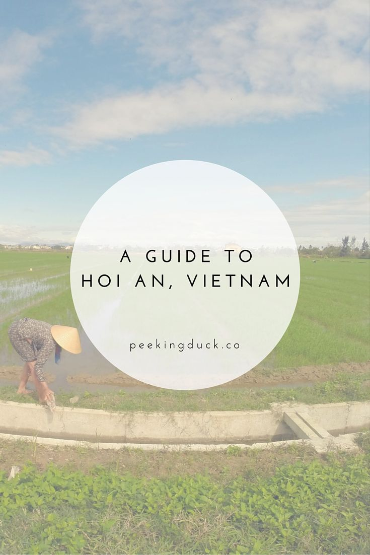 How to get off the beaten path in Hoi An, Vietnam.