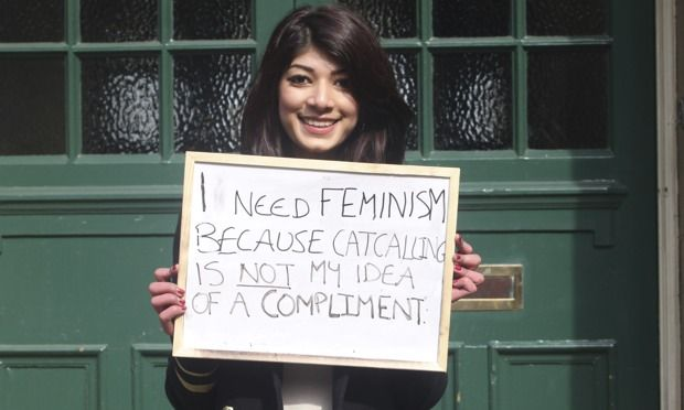 The Who Needs Feminism campaign.
