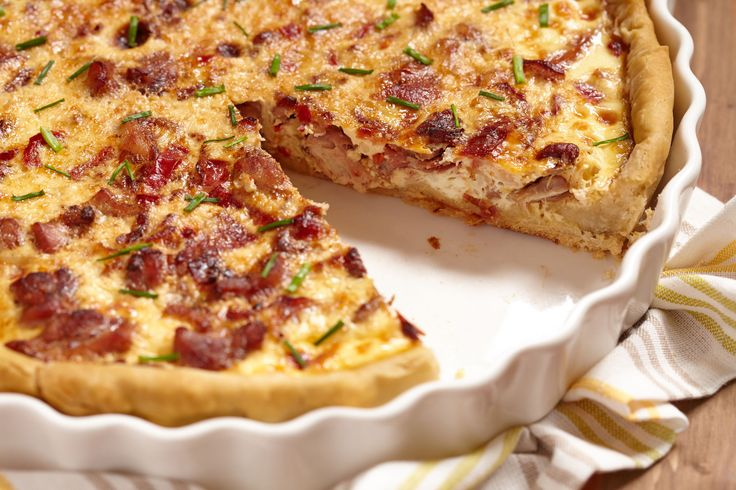 how to make quiche without crust