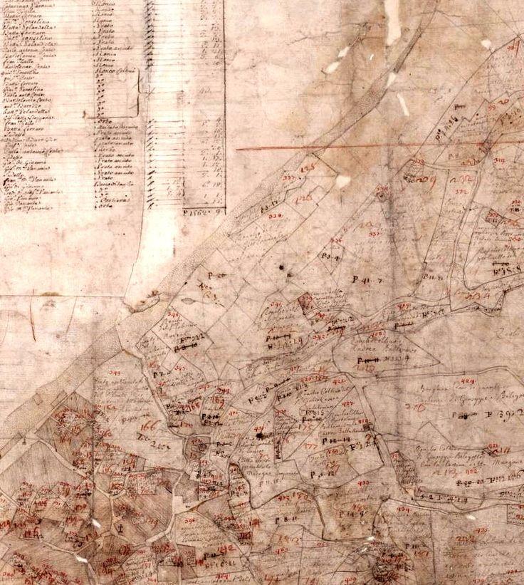 Vecchie mappe - catasto Teresiano