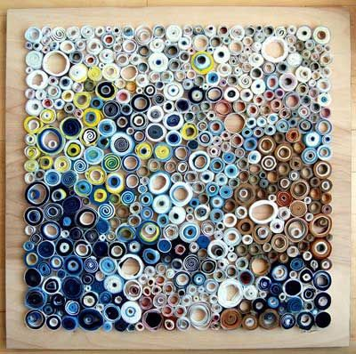 Abstract Art Using Paper Quilling The Art Of Quilling