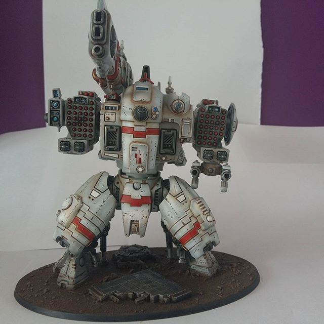 I found this awesome model painted by orcpainternerd_ on the Games Workshop web store.