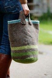 Landlust - Strickset Tweed Einkaufsbeutel
