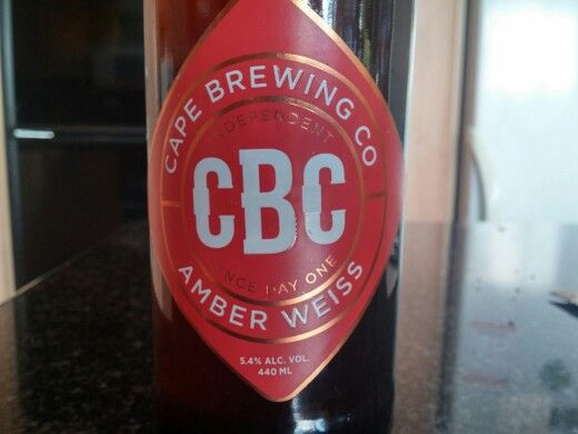 Cape Brewing Co Amber Weiss