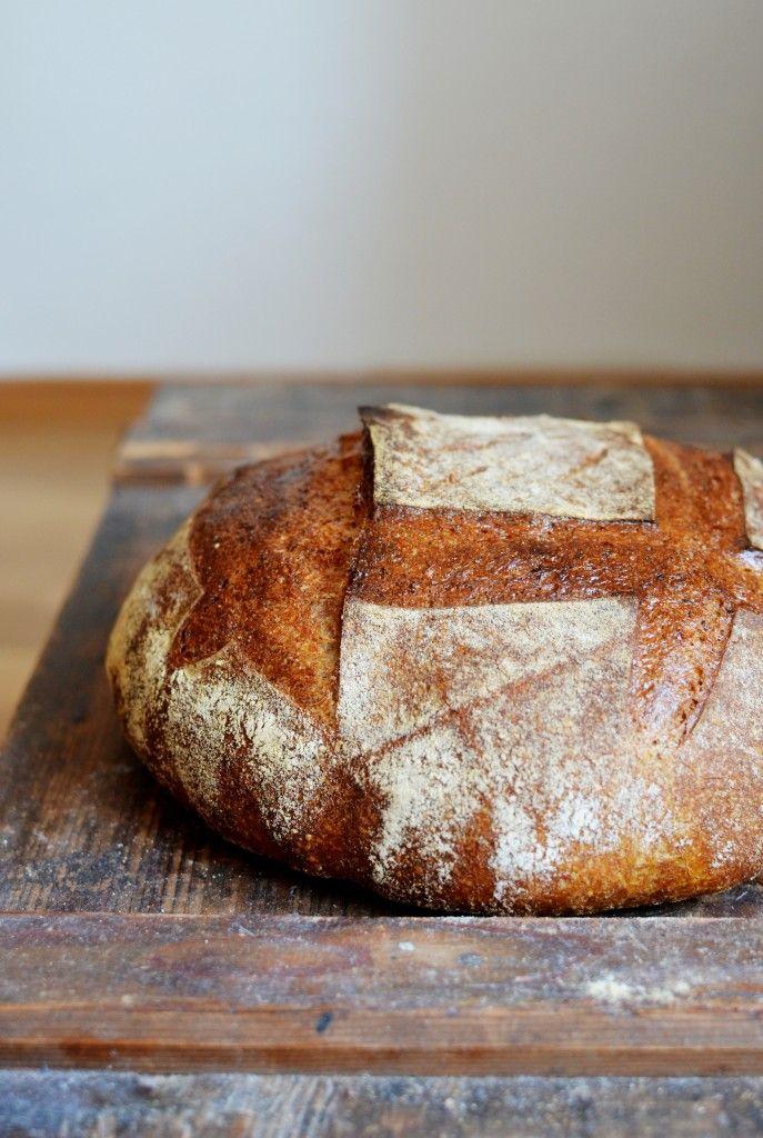 Všední kvasový chleba s miminkem