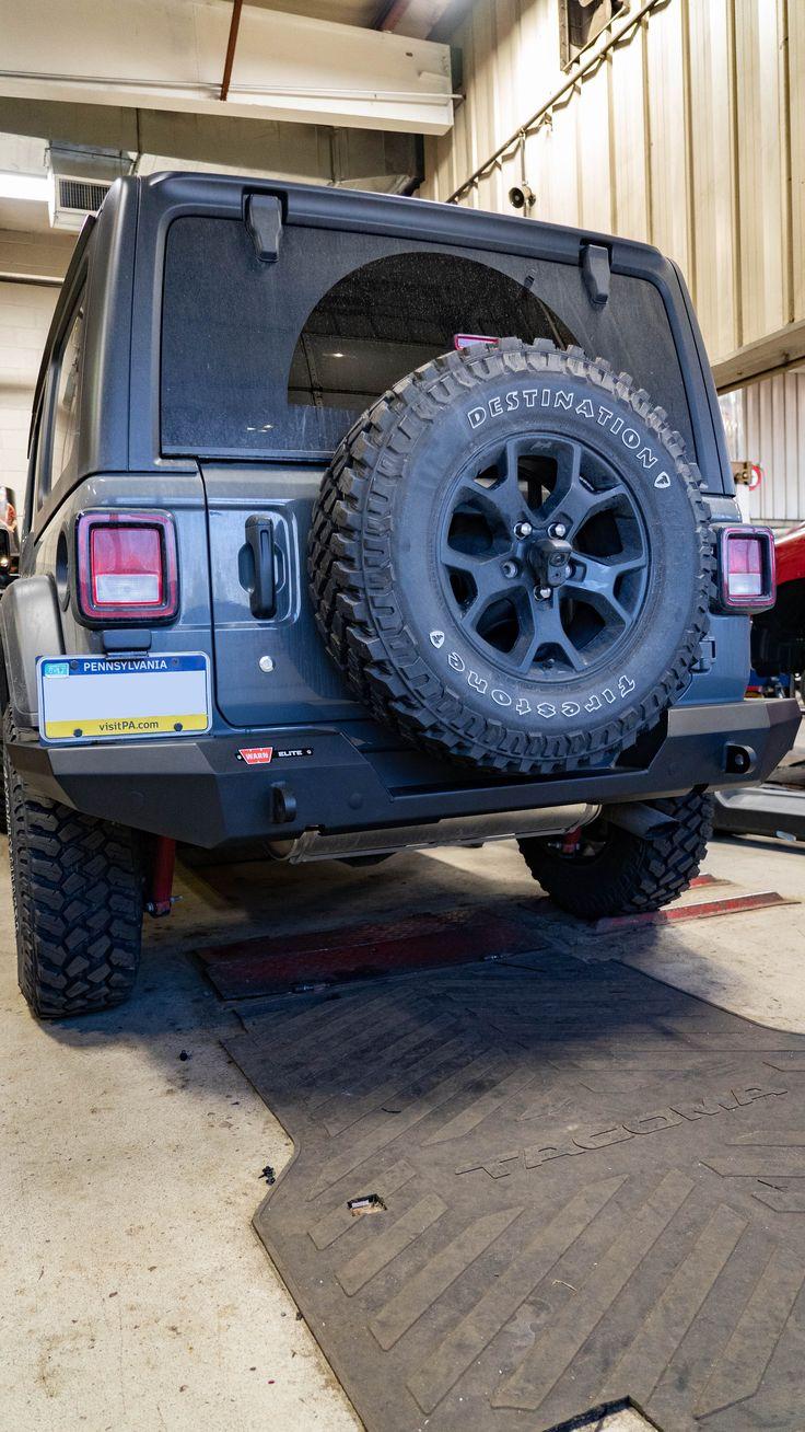 Warn Elite Series Rear Bumper For Jeep Jl In 2020 Jeep Jl Jeep Bumpers