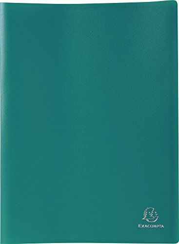 From 2.68 Exacompta Soft Pp Display Book 24x32cm 30 Pockets - Green
