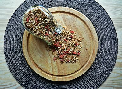 Buckwheat granola with goji berries