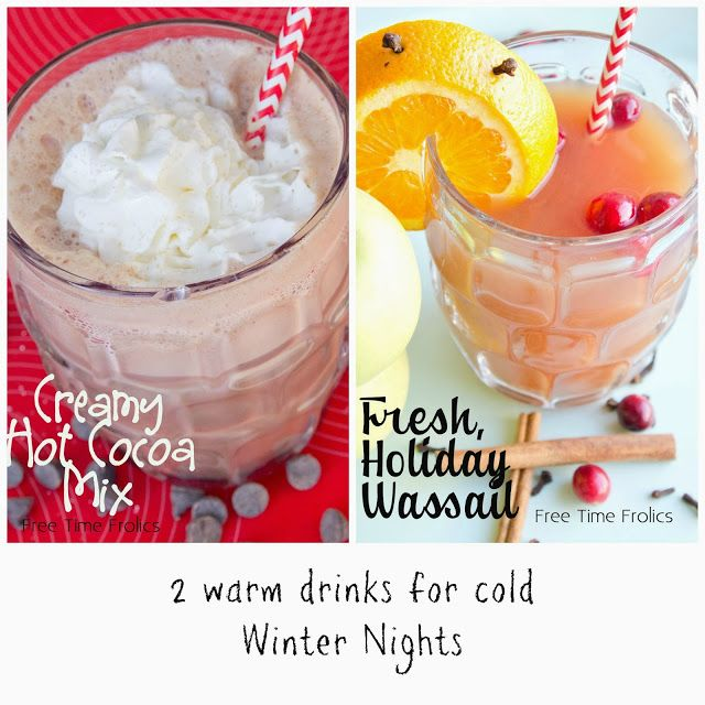 Hot chocolate and wassail recipe via free time frolics #wassail #cocoa ...