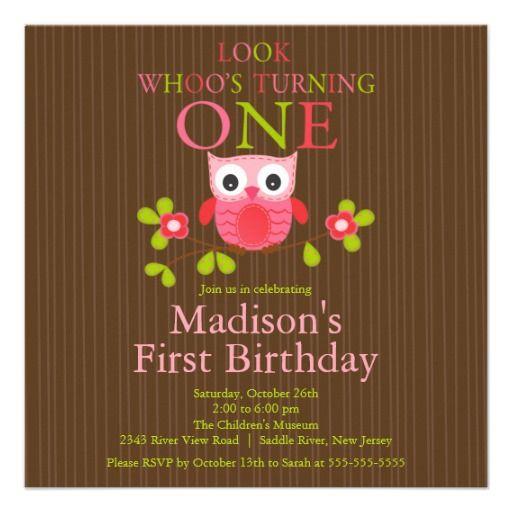 1st Birthday Ideas October