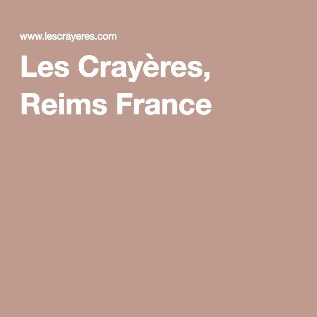 Les Crayères, Reims France