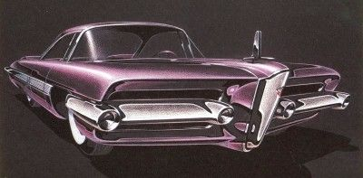 Image Gallery: Concept Cars  1957 & 58 Packard Concepts