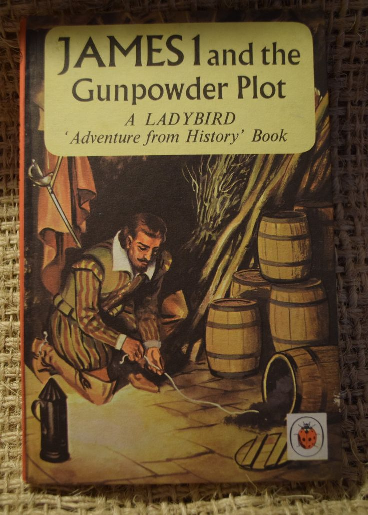 James I and the Gunpowder Plot. A Vintage Children's Ladybird. Adventure From History Book. First Edition by BookBugs on Etsy #ladybird #ilovereading