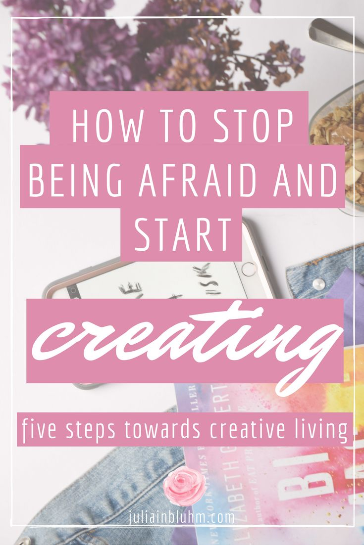 Fear often holds us back from starting our projects, businesses, and learning new creative skills. There are a million reasons to be afraid, this is true. But there are also a million reasons to keep going despite fear, and makin' stuff happen. Here are five tips to live a creative life despite fear, and how to get yourself to start. Right now.