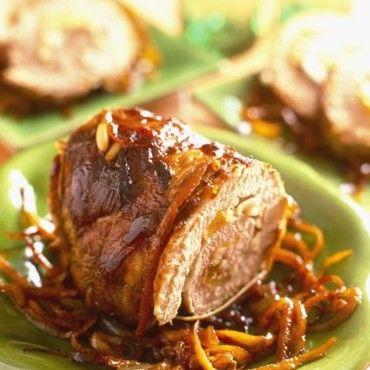 Roulade de porc à l'orange
