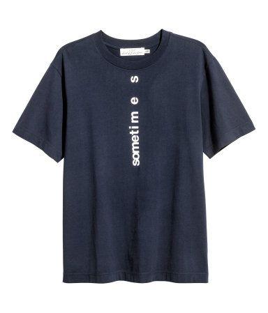 Hvid. T-shirt i blød bomuldsjersey.