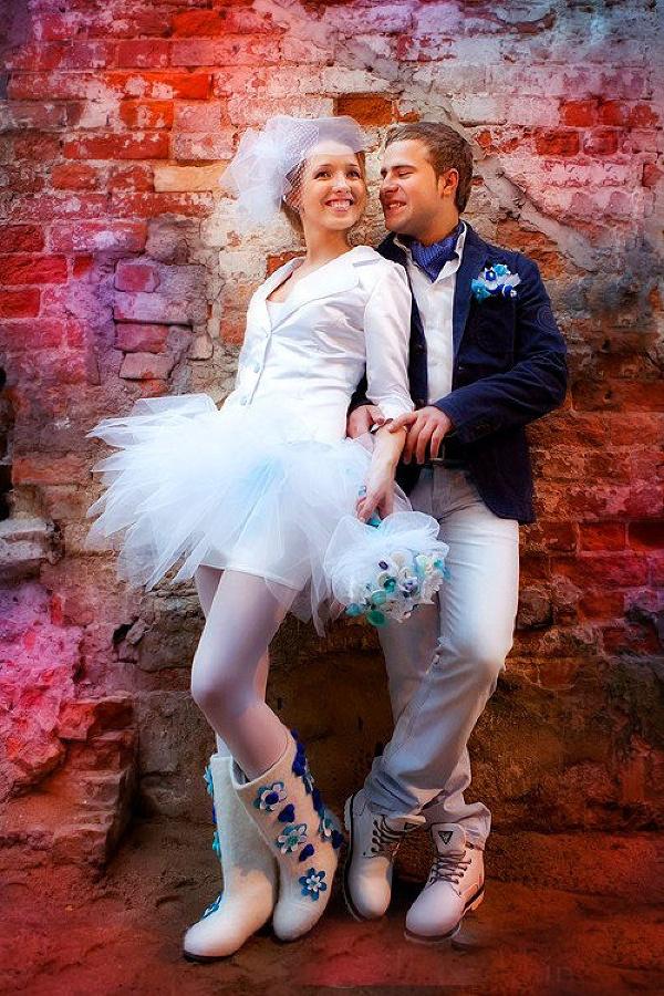 Обыкновенные реквизиты для необыкновенной свадебной фотосессии | Делай Фото