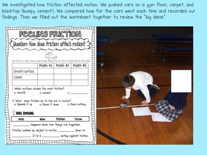Sarahs First Grade Snippets: Force and Motion First Grade Style