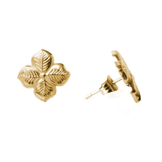 Delicate and feminine, these beautiful engraved hyacinth stud earrings are inspired by a walk through a typically British garden. Adorably quintessential, this style is available in silver, gold or rose gold plated stainless steel. Dimension approx 1cm.