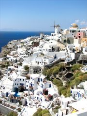 Map of Santorini Attractions | Tripomatic