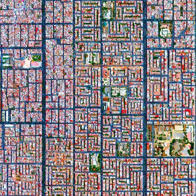 The Cite Djemaa neighborhood, located in the southeast of Casablanca, Morocco.