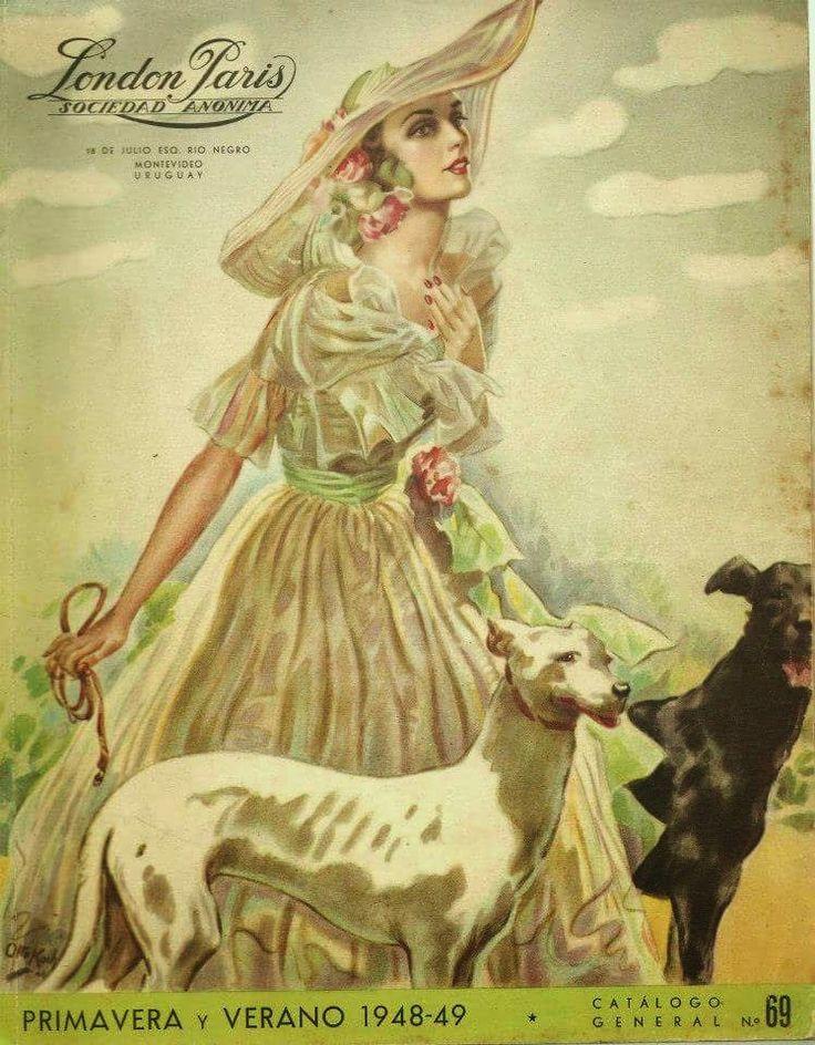 London Paris, Catalogo Primavera - Verano 1948-49. Montevideo – Uruguay.