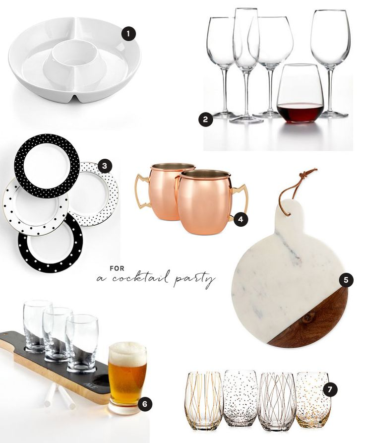 Macy's Wedding Registry picks + entertaining essentials for throwing a cocktail party