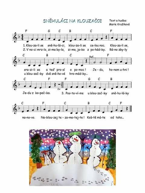 Sněhuláci na klouzačce