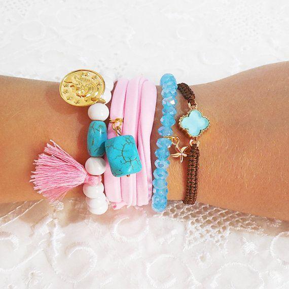 cross bracelet macrame bracelet greek jewelry by christelboutique