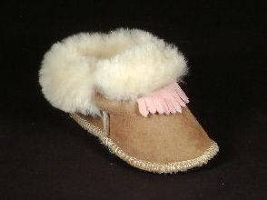 Toddler Sheepskin Moccasins