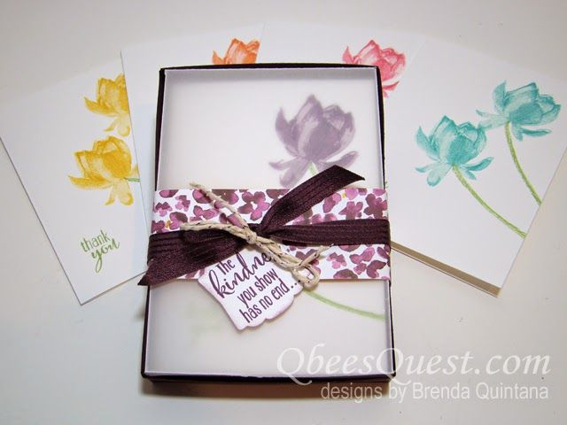 Stamping Ideas For Card Making Part - 45: QbeesQuest Offers Card-making Ideas, Paper Crafting Tips And Tutorials.  Brenda Quintana Independent Stampinu0027 Up!