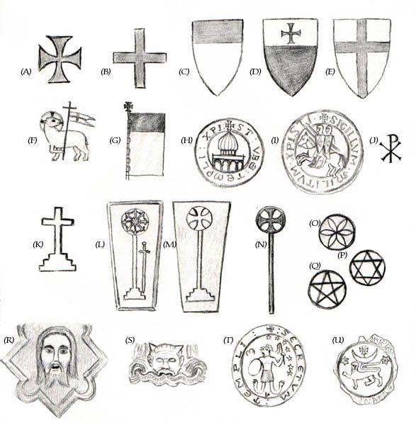Knights Templar Symbols and Meanings   Templar Symbols