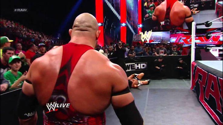 Ryback vs. Brad Maddox: Raw, Nov. 12, 2012