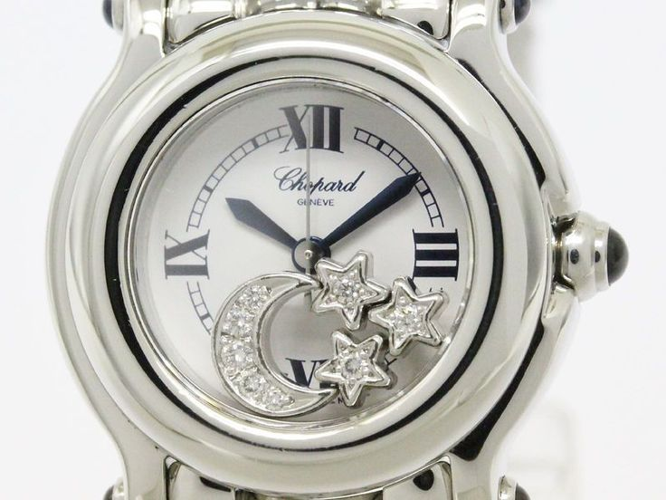 Polished #CHOPARD Happy Sport Diamond Quartz Ladies Watch 27/8245-23 (BF088622). #eLADY global accepts returns within 14 days, no matter what the reason! For more pre-owned luxury brand items, visit http://global.elady.com