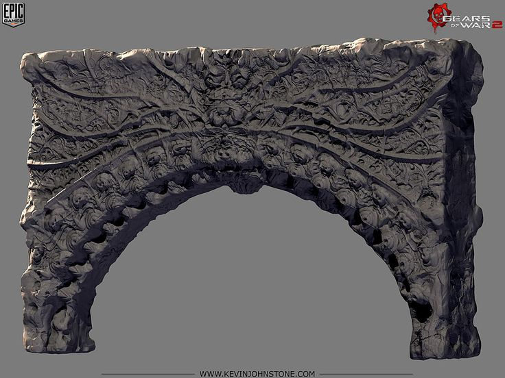 Gears of War 2 - Locust Palace Arch1 by Kevin Johnstone