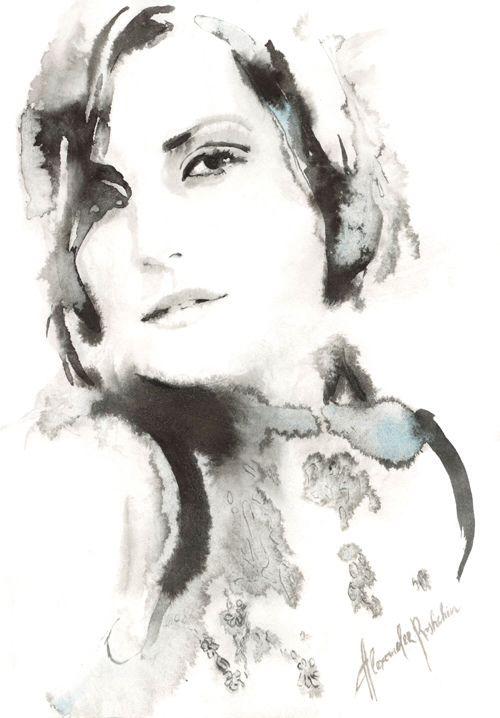 Alexander Roshchin es un artista e ilustrador de moda con base en San Petersburgo, Rusia. Con un un gran apego a las marcas hechas a mano, las ilustraciones de Roshchin demuestran una aplicación magistral de la acuarela y un balance bien afinado entre la figuración y la abstracción. Enseña un curso de ilustración en la Escuela Miroedova.