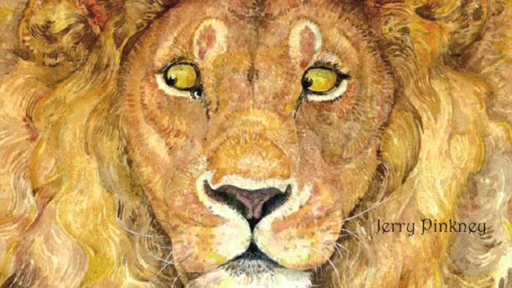 Il leone e il topo di Esopo