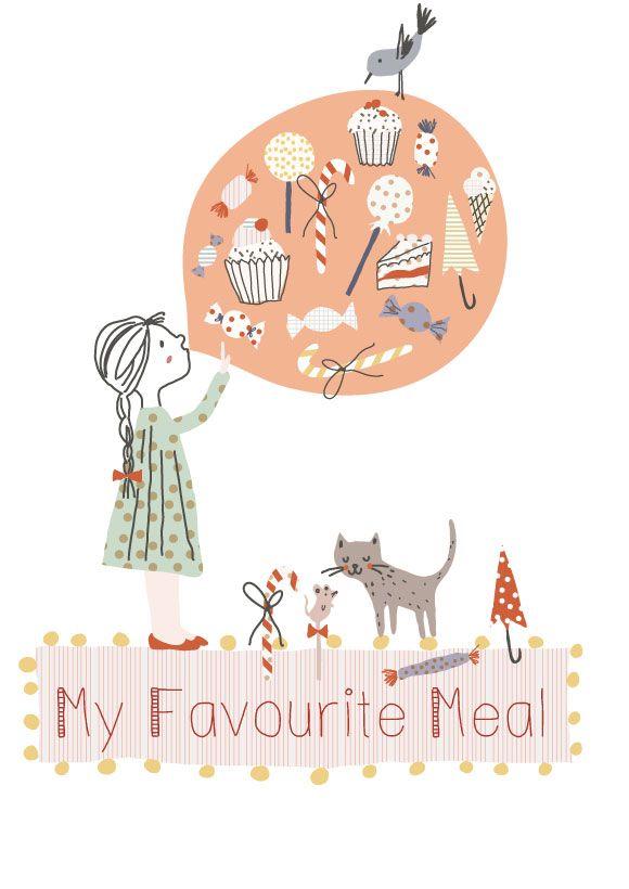 My favorite meal illustration pinterest - 5 5 designers bernardaud ...