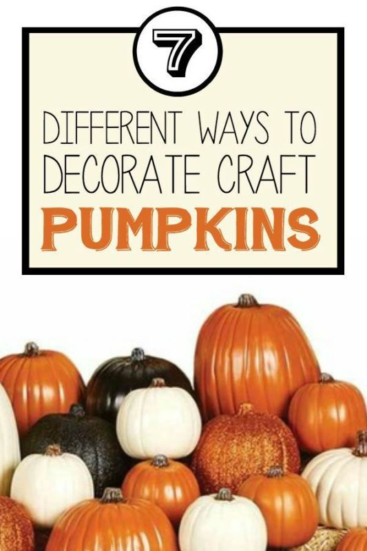 Have you ever seen those foam pumpkins but you weren't sure what to do with them? As it turns out, there are many options, and the best part is, they don't get moldy. Craft pumpkins are just as versatile as the real thing, and you can paint them, decoupage them, or cut into them and create a new craft. Check out this eBay guide and get creative ways to decorate craft pumpkins you can display all season long.