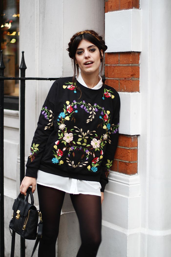 Street Style embellished. London.