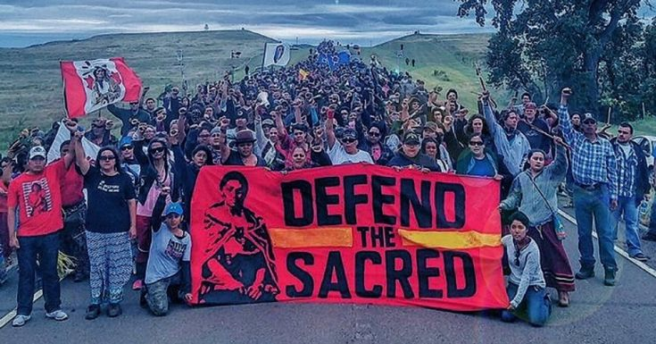 This week, thousandsof Native Americans, from more than a hundred tribes, have camped out on the Standing Rock Sioux reservation, which straddles the border between the Dakotas, along the Missouri River. What began as a slow trickle of people a month ago is now an increasingly angry flood. They're there to protest plans for a proposed oil pipeline that they say would contaminate the reservation's water; in fact, they're calling themselves protectors, not protesters.
