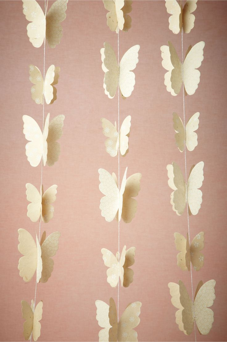 Lacewing Garland (3) from BHLDN. Because at some point I have to represent my butterlyness at my wedding
