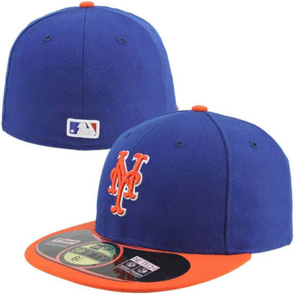 Men's New York Mets New Era Royal AC On-Field 59FIFTY Alternate 2 Performance Fitted Hat, $34.99
