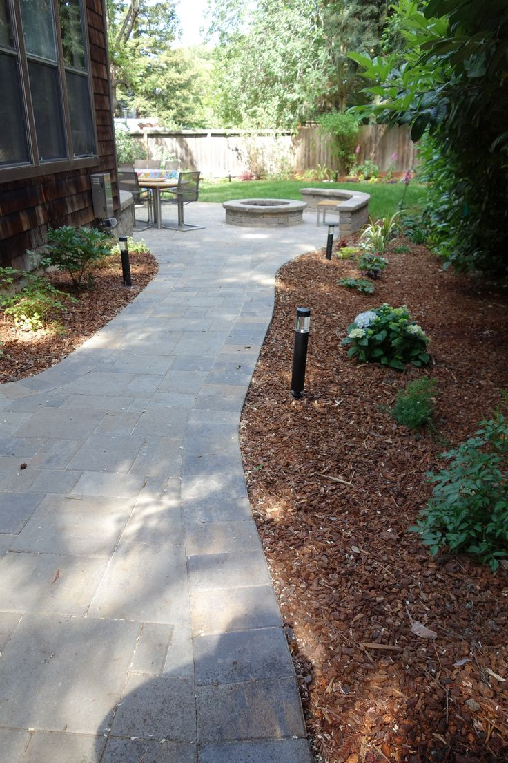 Belgard Catalina Patio And Path With Belgard Weston Wall