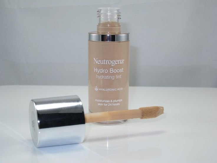 Neutrogena Hydro Boost Hydrating Tint ~ a sheer foundation, lightweight coverage, evens out skin tone and some redness, brightens, adds a touch of natural color
