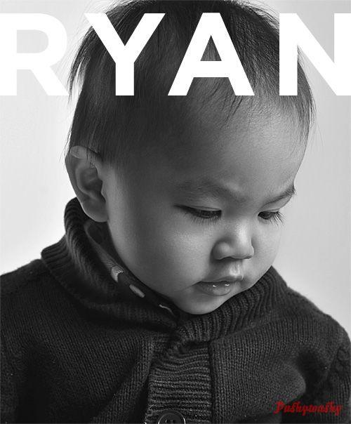Baby Ryan's book!