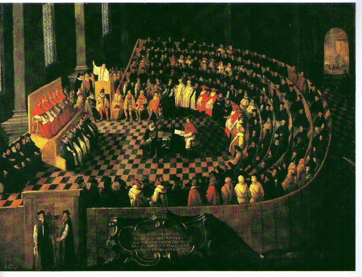 Katolinen kirkko ryhtyi vastatoimiin 1500-luvun puolivälissä. Trenton kirkolliskokous (1545-1563) poisti anekaupan ja velvoitti papit ja munkit toimimaan hurskaina esimerkkeinä seurakuntalaisilleen. Raamatun ohella katolinen traditio hyväksyttiin opin perustaksi, ja paavin ehdoton ylivalta kristikunnassa säilytettiin. Pyhimysten ja ihmeitä tekevien pyhäinjäännösten merkitystä korostettiin entisestään. Protestanttisen kirkot ja heidän oppinsa kirottiin.