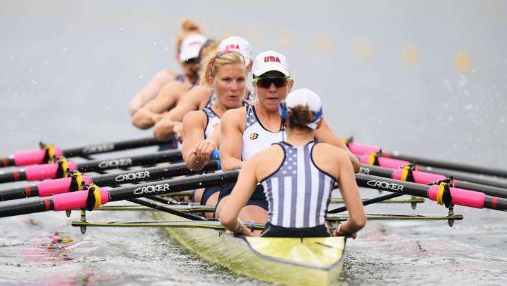 USA women's eight wins gold  -  August 13, 2016
