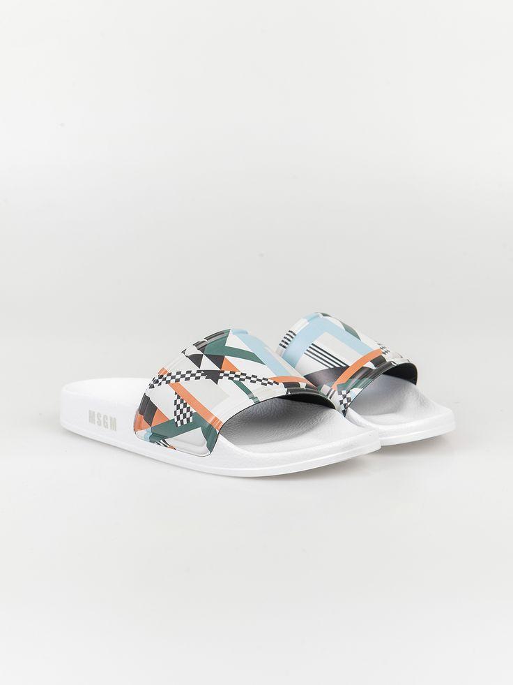 MSGM , Desenli Terlik #shopigo#shopigono17#shoponline#womenswear#sneakers#MSGM